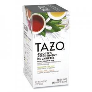 Tazo Assorted Tea Bags, Three Each Flavor, 24/Box TZO153966 TJL20200