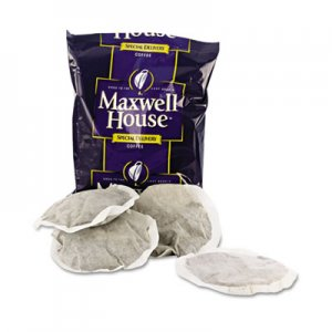 Maxwell House Coffee, Regular Ground, 1.2 oz Special Delivery Filter Pack, 42/Carton MWH862400 GEN862400