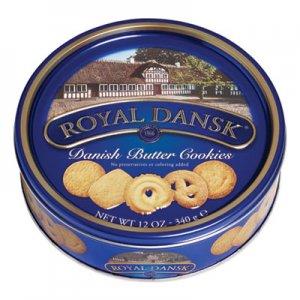 Royal Dansk Cookies, Danish Butter, 12 oz Tin OFX53005 53005