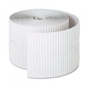 "Pacon Bordette Decorative Border, 2 1/4"" x 50' Roll, White PAC37016 37016"
