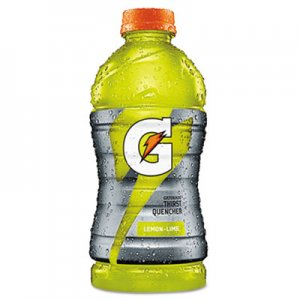 Gatorade G-Series Perform 02 Thirst Quencher Lemon-Lime, 20 oz Bottle, 24/Carton QKR28681 30003