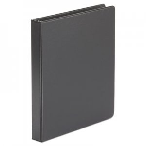 "Genpak Economy Non-View Round Ring Binder, 1"" Capacity, Black UNV31401"