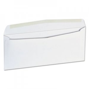 Genpak Business Envelope, #9, 3 7/8 x 8 7/8, White, 500/Box UNV35209