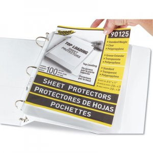 "C-Line Top-Load Polypropylene Sheet Protectors, Standard, Letter, Clear, 2"", 100/Box CLI90125 90125"