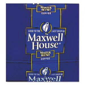 Maxwell House Coffee, Regular Ground, 1.1 oz Pack, 42/Carton MWH866350 GEN86635