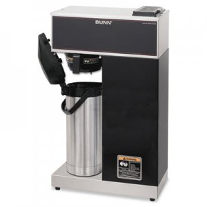 BUNN VPR-APS Pourover Thermal Coffee Brewer with 2.2L Airpot, Stainless Steel, Black BUNVPRAPS 33200.0014