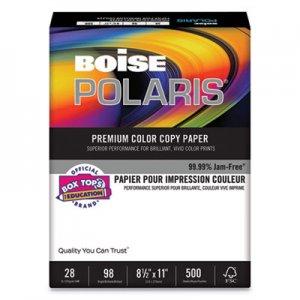Boise POLARIS Premium Color Copy Paper, 98 Bright, 28lb, Letter, White, 500 Sheets CASBCP2811 BCP-2811
