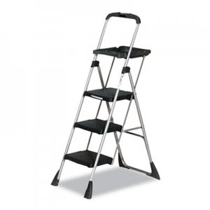 "COSCO Max Work Platform, 55"" Working Height, 225 lbs Capacity, 3 Step, Black CSC11880PBLW1 11880PBLW1"
