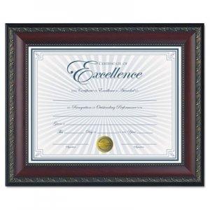 DAX World Class Document Frame w/Certificate, Walnut, 8 1/2 x 11 DAXN3245N2T N3245N2T