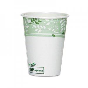 Dixie EcoSmart Hot Cups, Paper w/PLA Lining, Viridian, 8oz, 50/Pack DXE2338PLAPK 2338PLA