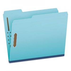 Pendaflex Earthwise by Pendaflex Heavy-Duty Pressboard Folders, 1/3 Cut, Ltr, Blue, 25/BX GLW61542 61542