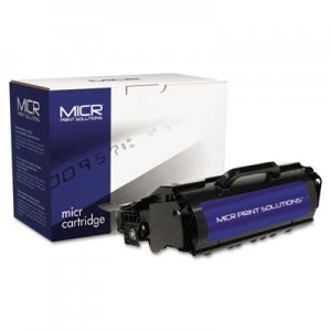 MICR Print Solutions Compatible with T650ML MICR Toner, 10,000 Page-Yield, Black MCR650ML