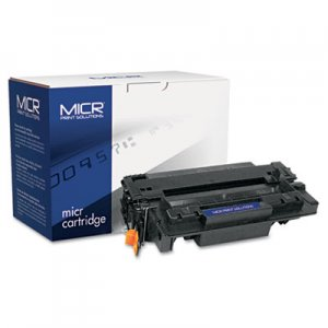MICR Print Solutions Compatible with CE255AM MICR Toner, 6,000 Page-Yield, Black MCR55AM