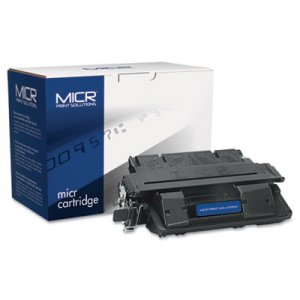 MICR Print Solutions Compatible with C4127XM High-Yield MICR Toner, 10,000 Page-Yield, Black MCR27XM