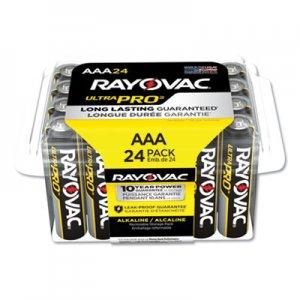 Rayovac Ultra Pro Alkaline AAA Batteries, 24/Pack RAYALAAA24PPJ ALAAA-24PPJ