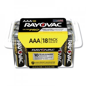 Rayovac Ultra Pro Alkaline AAA Batteries, 18/Pack RAYALAAA18PPJ ALAAA-18PPJ