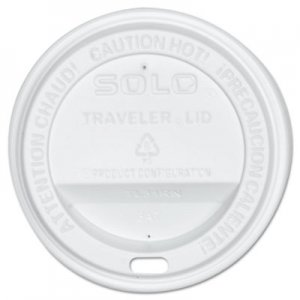 Dart Traveler Drink-Thru Lid, White, 300/Carton SCCOFTL310007 OFTL31-0007