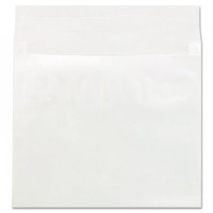 Genpak Deluxe Tyvek Expansion Envelopes, Square Flap, Self-Adhesive Closure, 14 x 16, White, 50/Carton UNV19004