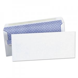 Genpak Self-Seal Business Envelope, Security Tint, #10, 4 1/8 x 9 1/2, White, 500/Box UNV36101