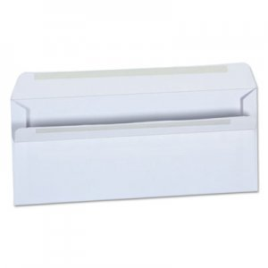 Genpak Self-Seal Business Envelope, #10, 4 1/8 x 9 1/2, White, 500/Box UNV36100