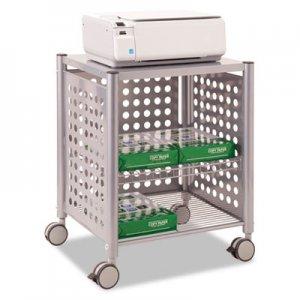 Vertiflex Deskside Machine Stand, Two-Shelf, 21 1/2w x 17 7/8d x 27h, Matte Gray VRTVF52004 VF52004