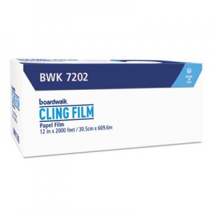 "Boardwalk Foodservice Film, Standard, 12"" x 2000 ft BWK7202 7329322"