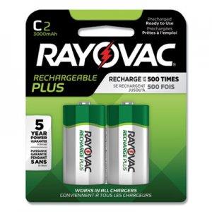 Rayovac Recharge Plus NiMH Batteries, C, 2/Pack RAYPL7142GEND PL714-2 GENE