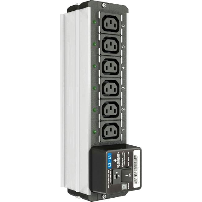 Liebert MPX BRM Power Backplate MPXBRM-NRBA6A3N