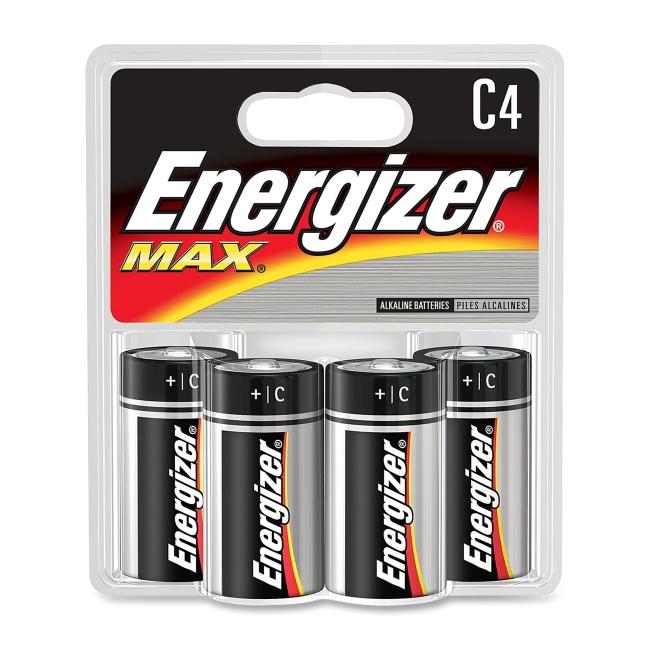 Energizer C Cell Alkaline Battery E93BP-4