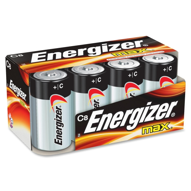 Energizer C Cell Alkaline Battery E93FP-8