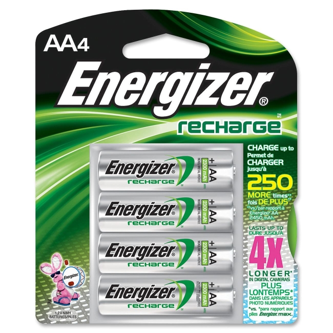 Energizer AA NiMH General Purpose Battery NH15BP-4