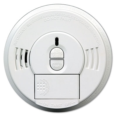 Kidde Front-Load Smoke Alarm w/Mounting Bracket, Hush Feature KID09769997 04787