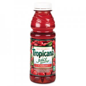 Tropicana Juice Beverage, Cranberry, 15.2oz Bottle, 12/Carton QKR00864 30210