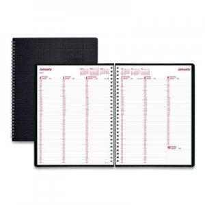 Brownline DuraFlex Weekly Planner, 11 x 8 1/2, Black, 2020 REDCB950VBLK CB950V.BLK