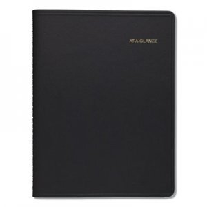At-A-Glance Monthly Planner, 8 7/8 x 11, Black, 2020-2021 AAG7026005 70-260-05