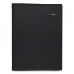 At-A-Glance Weekly Appointment Book, 10 7/8 x 8 1/4, Black, 2020-2021 AAG7095005 70-950-05