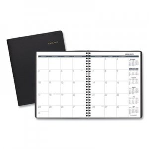 At-A-Glance Monthly Planner, 6 7/8 x 8 3/4, Black, 2019 AAG7012005 70-120-05