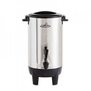 Coffee Pro 30-Cup Percolating Urn, Stainless Steel OGFCP30 CP30