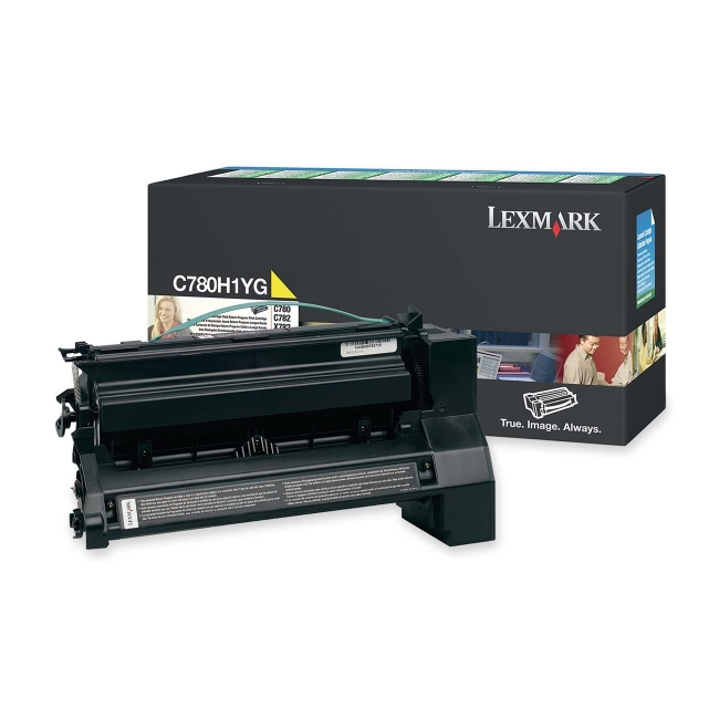 Lexmark Extra High Yield Yellow Toner Cartridge for C782n, C782dn, C782dtn and X782e Printers C782X2YG
