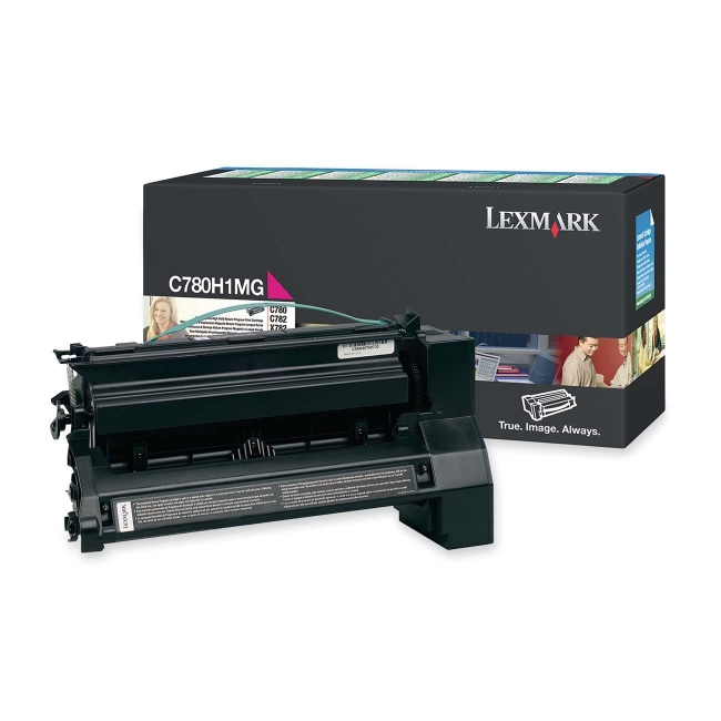 Lexmark Extra High Yield Magenta Toner Cartridge for C782n, C782dn, C782dtn and X782e Printers C782X2MG