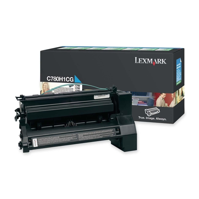 Lexmark Extra High Yield Cyan Toner Cartridge for C782n, C782dn, C782dtn and X782e Printers C782X2CG