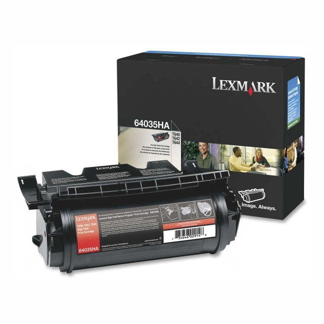 Lexmark High Yield Print Cartridge 64035HA