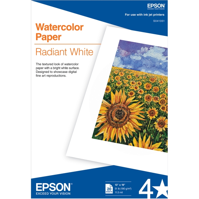 Epson Watercolor Papers S041351