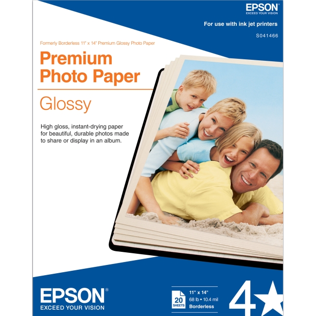 Epson Glossy Photo Paper S041466