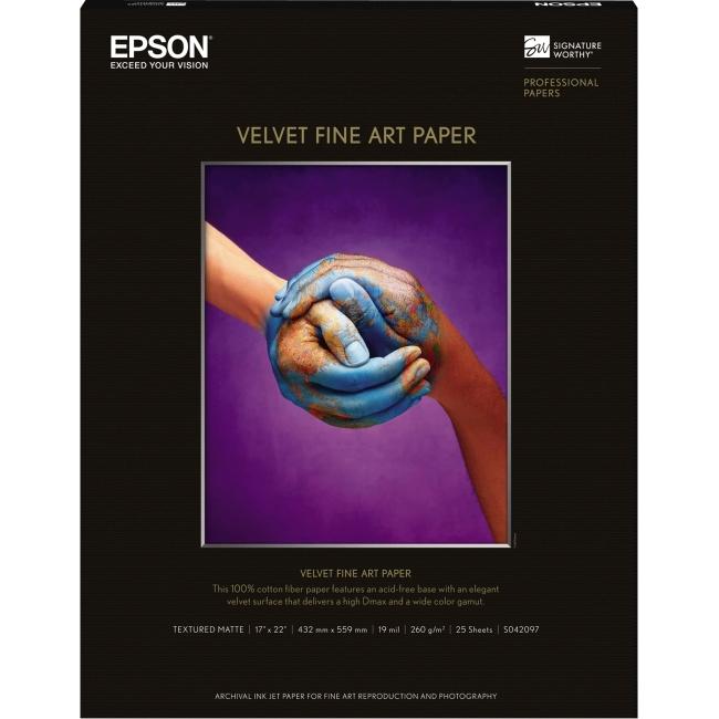 Epson Velvet Fine Art Paper S042097