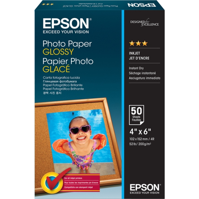 Epson Glossy Photo Paper Borderless S041809