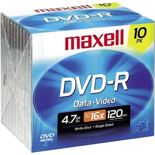 Maxell 16x DVD-R Media 638004