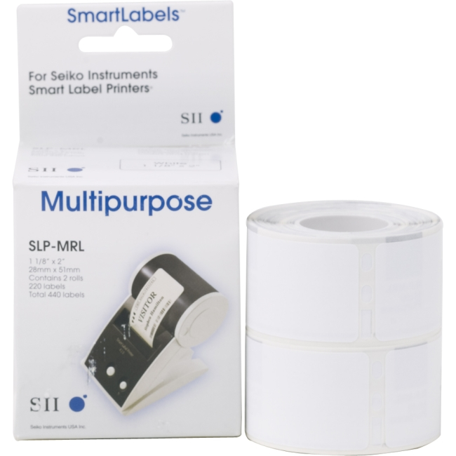 Seiko SmartLabel Multipurpose Label SLP-MRL