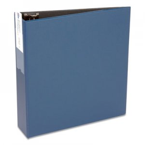 "Avery Economy Non-View Binder with Round Rings, 11 x 8 1/2, 3"" Capacity, Blue AVE04600 04600"