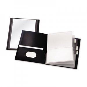 Cardinal ReportPro 10-Pocket Project Organizer, Letter, Black CRD13601 13601